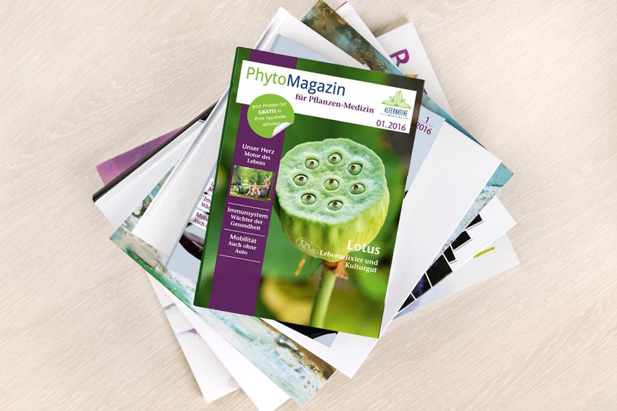 Layout PhytoMagazin für Springer Medizinverlag